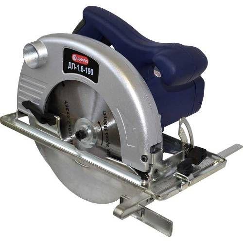 Пила ручная электрическая дисковая,1600 Вт,ск.4800 об/мин