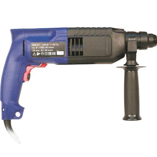 Перфоратор ручной электрический, 800 Вт, 0-1100 об/мин, 4500 уд/мин