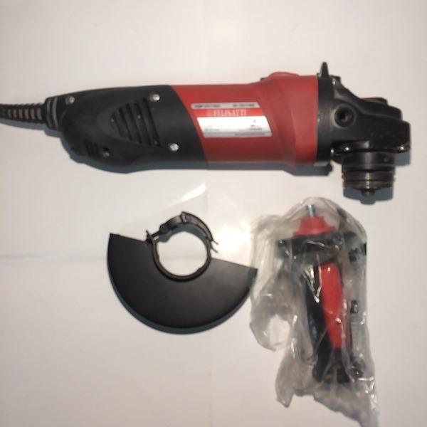 Машина ручная электрическая шлифовальная угловая, 1100 Вт., 125 мм., регул. 3000-10000 об/мин., пл.пуск