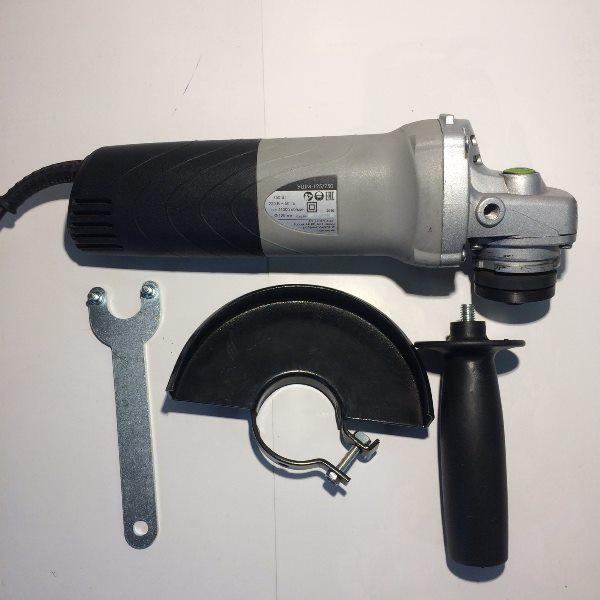 Машина ручная электрическая шлифовальная угловая, 750 Вт., 125 мм., 11 000 об/мин., 220 В., 50 Гц.