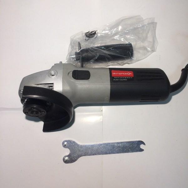 Машина ручная электрическая шлифовальная угловая, 900Вт, 125 мм, 11000об/мин