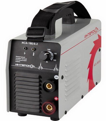 Инверторный аппарат ручной электродуговой сварки ММА, 8,2кВА, 20-180 А, 1,6-4,0 мм