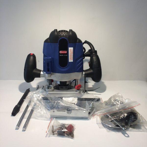 Машина фрезерная электрическая,1900 Вт,220В,50 Гц,частота 8000/28000об/мин,55 мм,цанга 12мм
