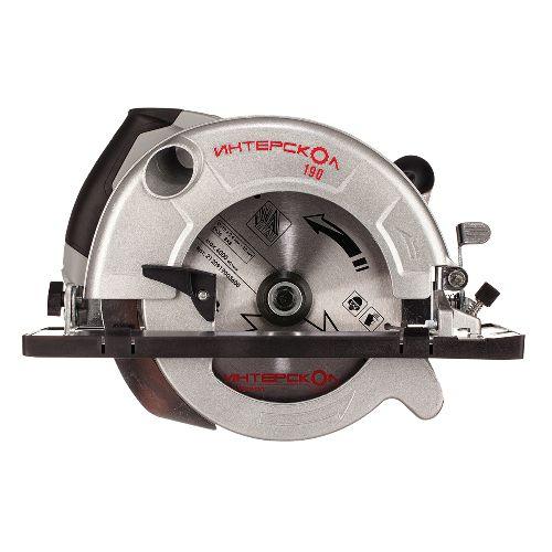 Пила ручная электрическая дисковая, 220 В, 7,2 А, 50 Гц, 4800 об/мин