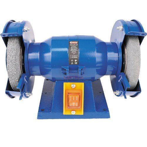 Электроточило бытовое, 200 Вт, диаметр шлиф.круга 125мм