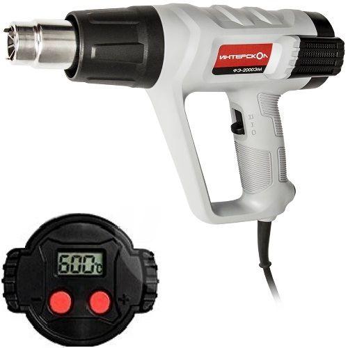 Фен электрический, 220В., 50Гц., 2000Вт., 300-500л/мин.