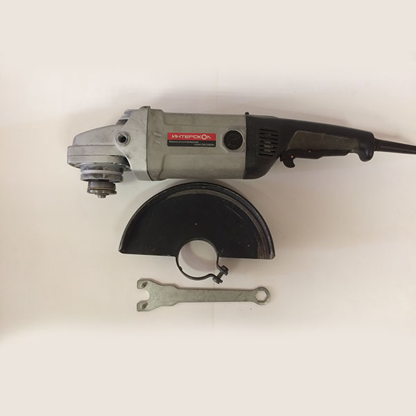 Машина ручная электрическая шлифовальная угловая, 2300Вт, 230мм, 6500об/мин