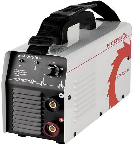 Инверторный аппарат ручной электродуговой сварки ММА, 10,6кВА, 20-225 А, 1,6-5,0 мм