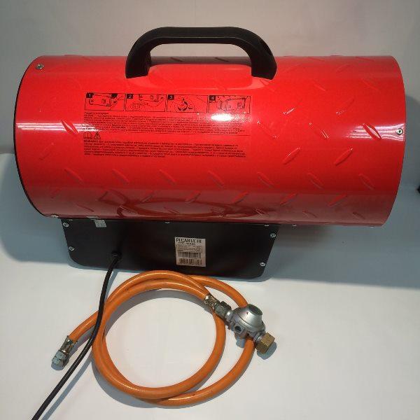 Тепловая газовая пушка, 20-30 кВт.,0,7 бар, 2,16 кг/час, 220В., 1,2мм.,1000 м.куб./час