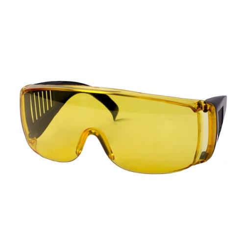 Очки защитные с дужками желтые