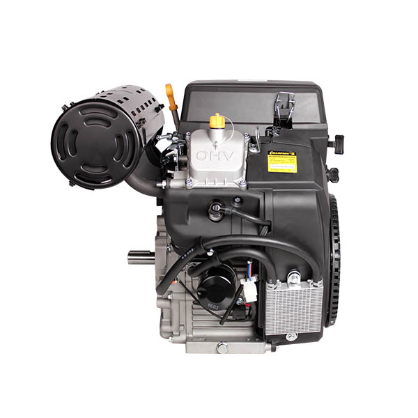 Двигатель бензин., с гор.валом 24л.с.,764 см3, диам. 25 мм. шпонка, эл.старт., выход 12В/300Вт