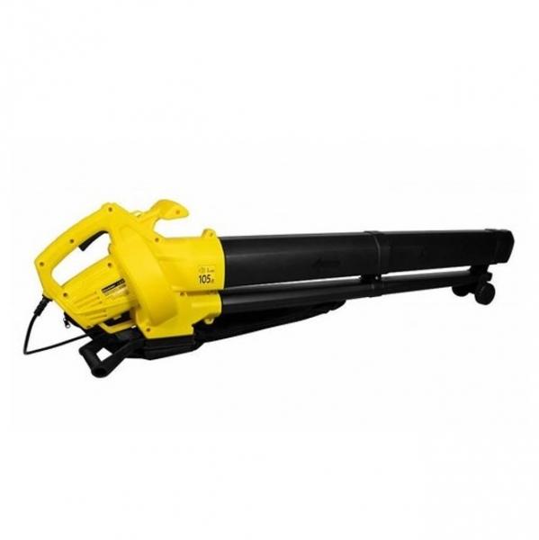Воздуходувка-пылесос электрическая, 230 В/50 Гц, 900 Вт, 15000 об/мин, 75 м/сек.