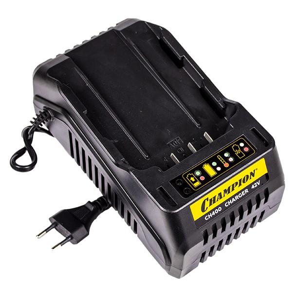 Устройство зарядное для аккумуляторов, CHAMPION, CH400, 36В, 2А, Li-ion, 80Вт