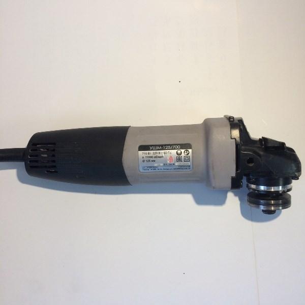 Машина ручная электрическая шлифовальная угловая, 710 Вт., 125 мм., 11 000 об/мин., 220 В., 50 Гц.