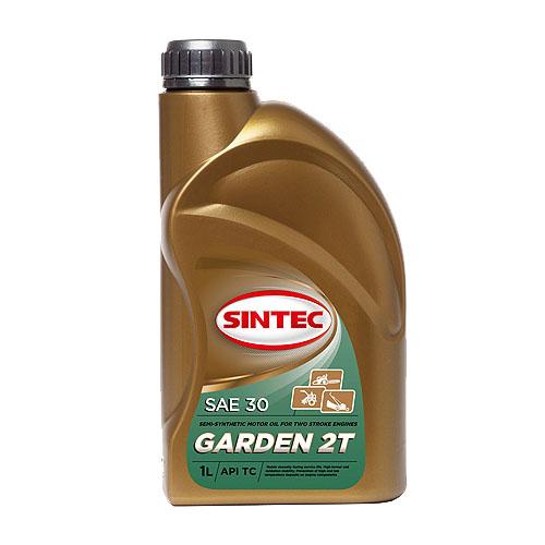 Масло моторное для двухтактных двигателей SINTEC Garden 2T 1л.
