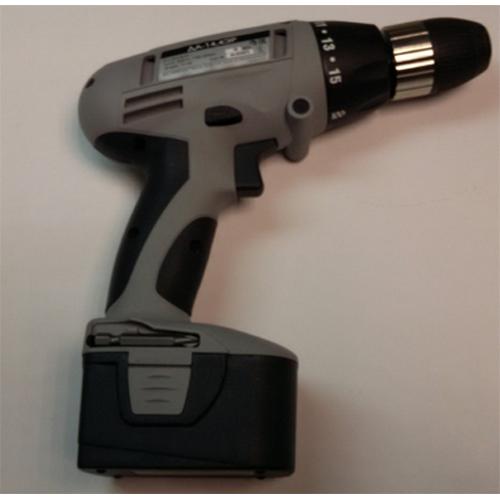 Машина ручная электрическая сверлильная аккумуляторная, 14,4В, 0-400-1100об/мин, 6мм, 2 аккум.