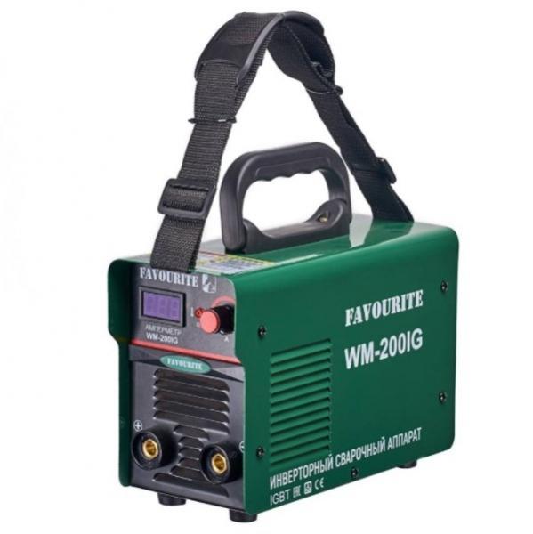 Инверторный сварочный аппарат, 170-260 В/50 Гц, 4 кВт, 10-200 А