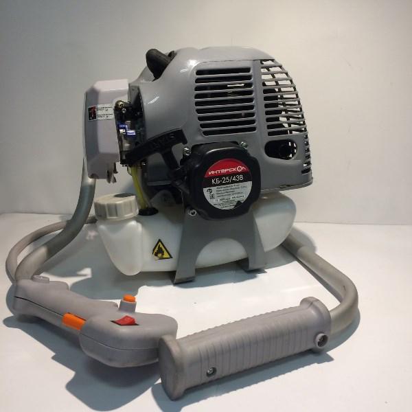 Кусторез бензиномоторный, 2-такт.возд.охл., 43 куб.см., 1750Вт., 2,3 л.с., 10000об/мин.,бак 1л.