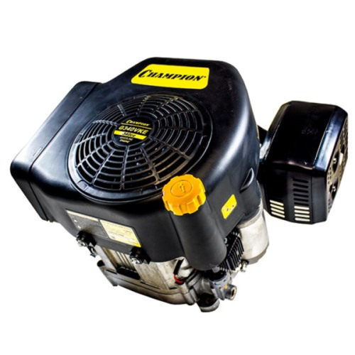 Двигатель бензин. 13 л.с.,340см.куб, диаметр 25,4мм, шпонка, верт. вал, эл.стартер