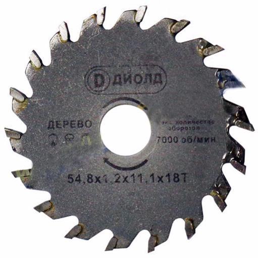 Диск пильный для ДП-0,45 МФ с твердосплавными пластинами