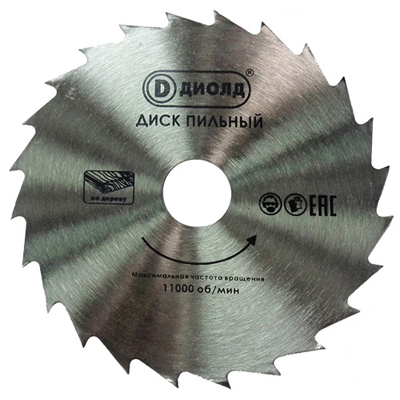 Диск пильный для ДП-0,55 МФ (ТСТ)