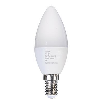 Лампа светодиодная свеча С37 7W,Е14 560lm 4200K FORZA