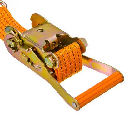 Стяжка груза с храповиком 196мм, 12м, шир.ленты 50мм, 2000/4000кг NEW GALAXY