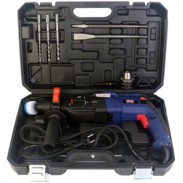 Перфоратор ручной электрический, 1010Вт., 50Гц, 0-1100 об/мин