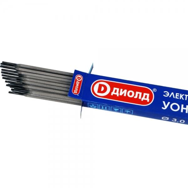 Электроды сварочные, УОНИ-13/55, d-3,0mm, 1 кг ДИОЛД