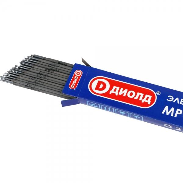 Электроды сварочные, МР-3С, d-2,0mm, 1 кг ДИОЛД