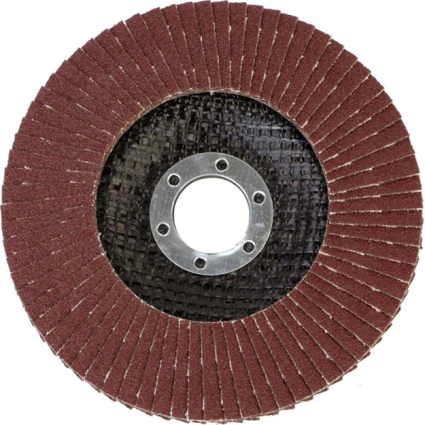 Круг лепестковый абразивный торцевой d 125 x 22,2мм, P120