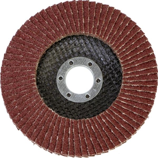 Круг лепестковый абразивный торцевой d 125 x 22,2мм, P60