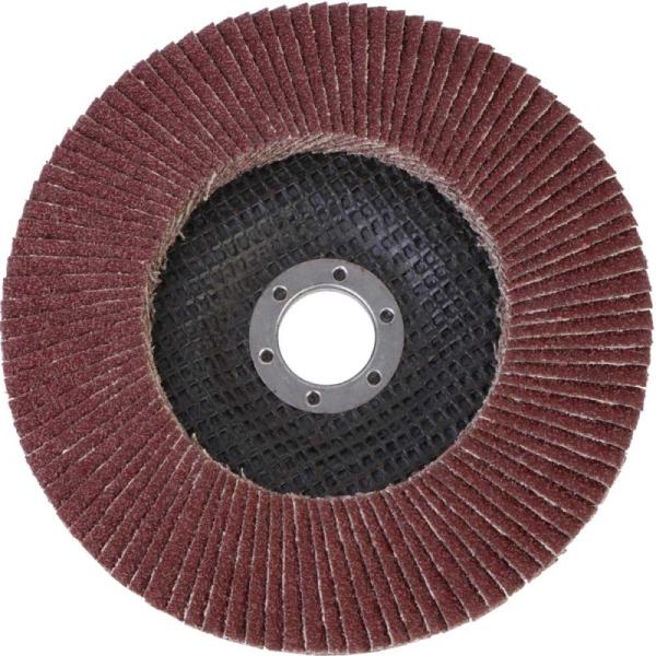 Круг лепестковый абразивный торцевой d 150 x 22,2мм, P60