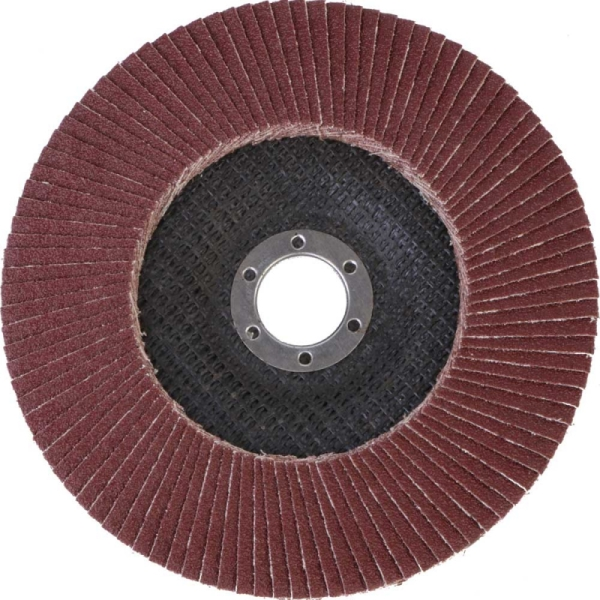 Круг лепестковый абразивный торцевой d 150 x 22,2мм, P100