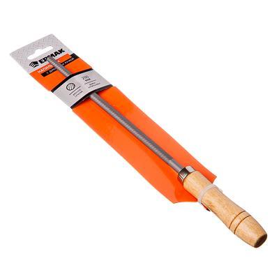 Напильник с дерев.ручкой круглый 200мм ЕРМАК