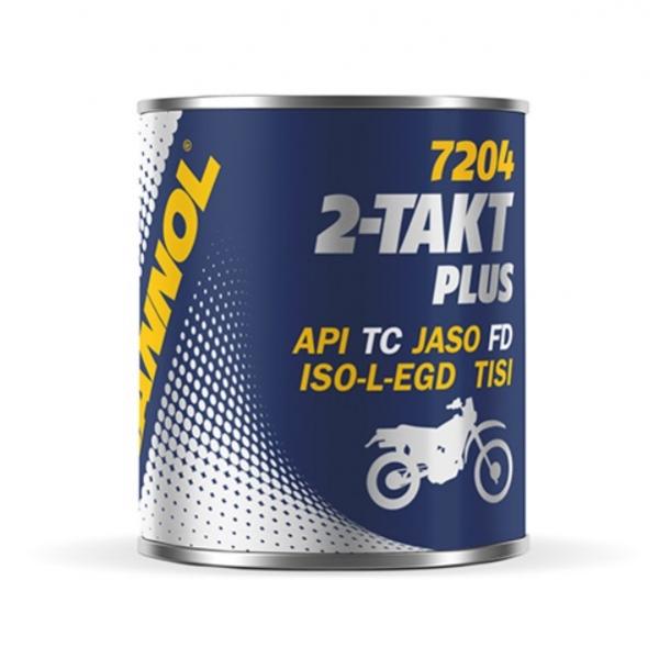 Масло моторное двухтактное полусинтетическое MANNOL 2-Taki Plus API TC, 100 мл.