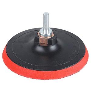 Опорная тарелка D125мм (липучка) для МШУ, М-14 (липучая основа)