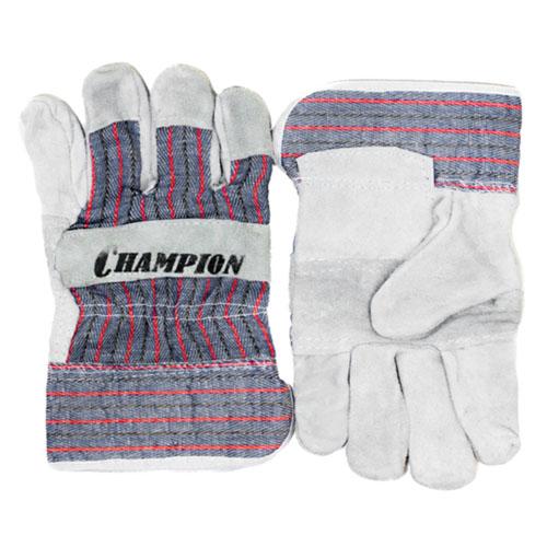 Защитные перчатки кожанные