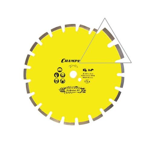 Диск алмазный, асфальт ST 350/25.4/10 Asphafight( асф.по бетону,свежий бетон, мяг. блоки)