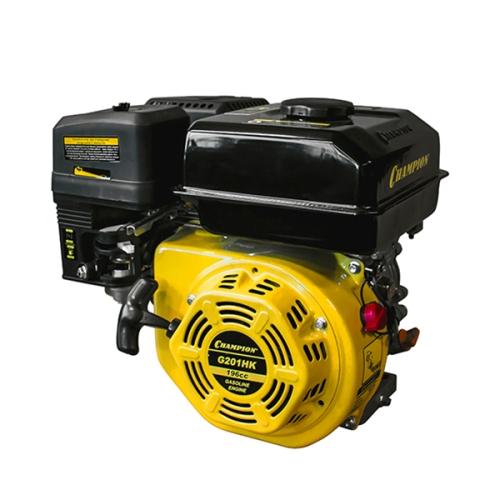 Двигатель бензин., с гор.валом, 6,5 л.с.,196 см.куб., 20 мм. шпонка, 4-х такт., 3,6 л. бак