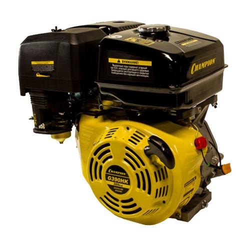 Двигатель бензин., с воздуш. охлажд., 13л.с.,389 см.куб.,диам. 25,4 мм. шпонка
