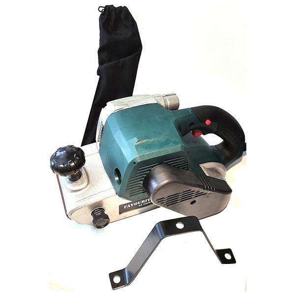 Ленточная шлифовальная машина, 220В/50 Гц, 1400 Вт, 100*610 мм, 500 м/мин