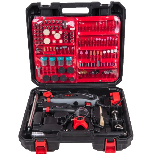 Гравер электрический, 150Вт.,бормаш 12в, цанга 3,2., 10 000-33 000 об/мин., 350пр.