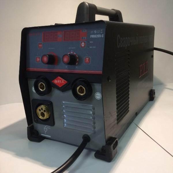 Сварочный полуавтомат, 6,8кВт., 205А., ПВ-60, ММА 2,5-5мм., 5,8кВт.,MIG 0.6-1мм.