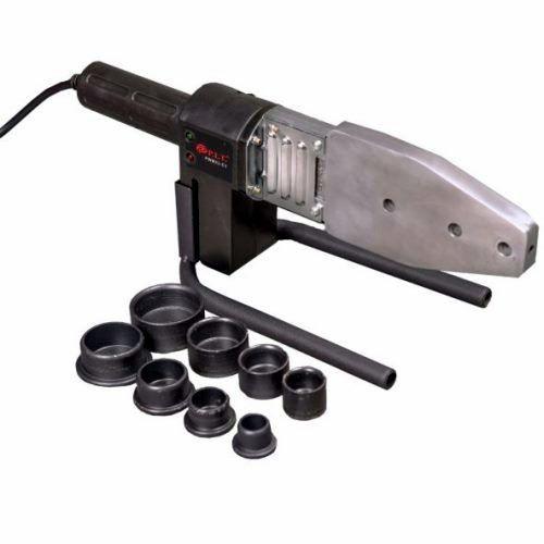 Паяльник электрический для пл/труб, 230В, 1.2кВт, нас.20-40мм, ключ, насадки, отвертка