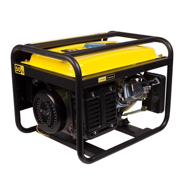 Генератор бензиновый, 4-х такт.,208 см.куб., 2,3/2,5 кВт.,6 л.с., IP23, 96 дБа,бак 15л.