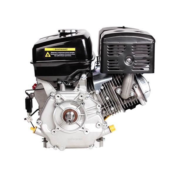 Двигатель бензин., с гор.валом 15л.с.,420 см3, диам. 25 мм. шпонка, выход 12В/60Вт