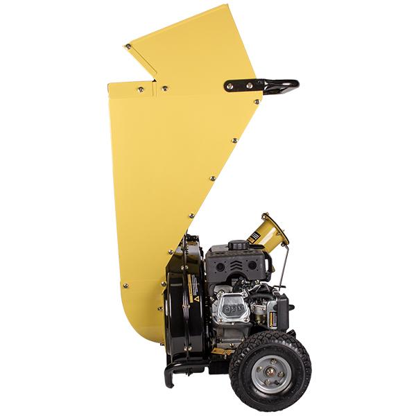 Измельчитель-шредер бензиновый, 4,8кВт, 50мм, 85л