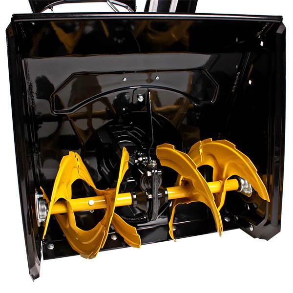 Снегоотбрасыватель 5,5 л.с., 53см.,4F/1R, колеса, бак 3,6л., руч.стартер