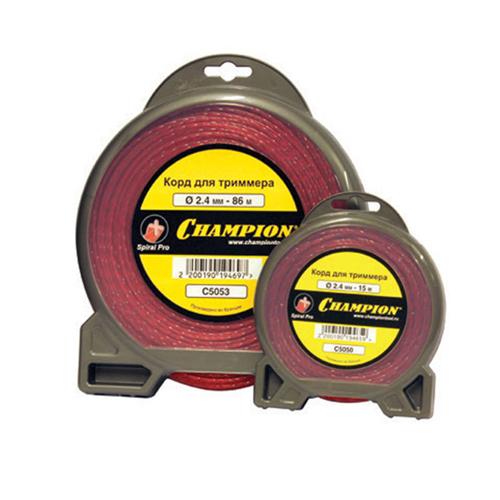 Корд для триммера, 2.4 мм*15м (витой), Spiral Pro